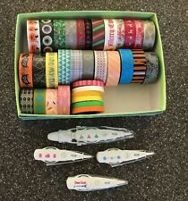 Washi Tape & Deco Tape Lot 30+ Christmas Halloween Decoration Tape
