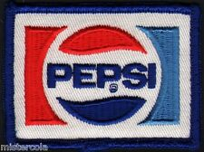 Vintage uniform patch PEPSI soda pop bookends logo small new old stock n-mint+