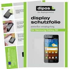 6x dipos Samsung Galaxy S2 i9100 screen protector protection anti glare