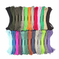 Colorful 550 Paracord Parachute Cord Rope III 7 Strand Core Lanyard Mil Spec