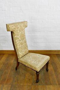Antique Rosewood PRIE DIEU prayer chair