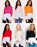 Ladies Womens 2 in 1 Layered Long Puff Sleeve Frill Shirt Hem Jumper Top Blouse