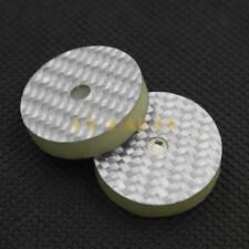 Solid Carbon Fiber Vibration Pad Floor Base For Speaker AMP Turntable Spike 25mm