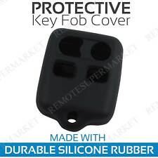 Remote Key Cover Case Shell for 1998 1999 2000 2001 2002 2003 Ford Escort Black