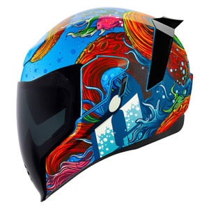 2021 Icon Airflite Full Face DOT Street Motorcycle Helmets - Pick Size & Graphic