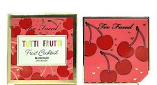 TOO FACED TUTTI FRUTTI Fruit Cocktail Blush Duo CHERRY BOMB New in Box