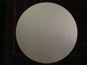"""Disc Shaped 3//8/'/' A36 Steel 3//8/"""" Steel Plate .375 1.00/'/' Diameter"""