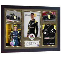 New Daniel Ricciardo signed autographed print photo F1 Formula 1 Framed