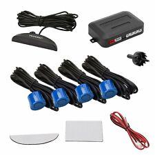 TKOOFN KFZ Summer Einparkhilfe R/ückfahrhilfe 8 Sensoren 4 vorne 4 hinten Hinter mit LED Farb Display Auto Parken Sensor System Pieper Radar Silber