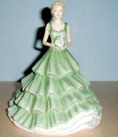 "Royal Doulton Cherished Moments Petite Figurine Sentiments HN5823 7.5""H New"