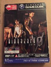 Nintendo Game Cube Biohazard Zero NTSC-J Japanese