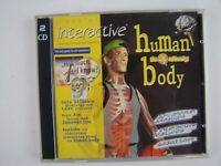 Interactive Human Body PC CD Software by Mega Systems