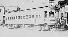 Z007 NEG/RP 1930/40s COMBINATION TROLLEY SEATTLE EVERETT WA RAILWAY ??