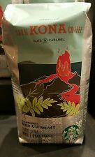 Starbucks 100% Kona Whole Bean Coffee Medium Roast 8.8 oz Hawaii Exclusive