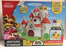 Nintendo 58541 Super Mario Mushroom Kingdom Castle Playset * Bowser