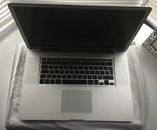 "Apple MacBook Pro 17"" 2.2GHz i7 16GB RAM 1TB HDD A1297 Stiller Display 2011"