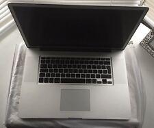 "Apple MacBook Pro 17"" 2.2GHz i7 16 Go RAM 1 To Disque dur A1297 antireflet écran 2011"