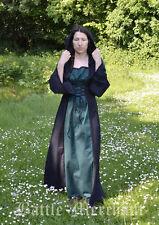 """Battle Merchant Mittelalterkleid """"Nele"""" mit Kapuze Mittelalter Kleid 2-farbig"""