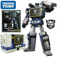 Transformers Masterpiece MP-13 SOUNDWAVE Destron Communications K.O Robot Figure