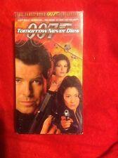 James Bond 007 Tomorrow Never Dies Pierce Brosnan 1997 VHS