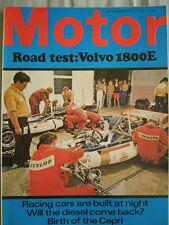 Motor 8/8/70 Volvo 1800E