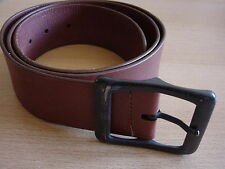 DOLCE&GABBANA D&G men's brown leather belt 95 w34 - w38 made in italy