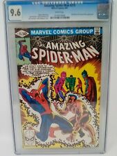 THE AMAZING SPIDER-MAN #215 CGC 9.6 SUB-MARINER FANTASTIC FOUR MARVEL APR 1981