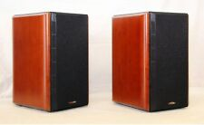 Polk LSi7 Stereo Speakers  Cherry  w/ Concecutive Serial Numbers