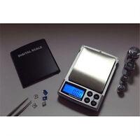 500g x 0,01g Digitalwaage Silber Schmuck Gewicht Balance Werkzeug Gerät 0 TG