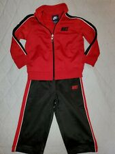 Nike Boys Casual Athletic Full Zip Outfit. Size 18 Months. Baby Boys Nike Outfit