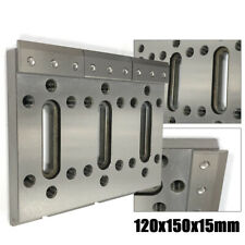 Stainless Wire Edm Fixture Board Jig Tool For Clamping&Leveling 120x150x15mm Usa