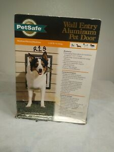 PET SAFE ALUMINUM WALL ENTRY PET DOOR MEDIUM Animal DOG CAT New