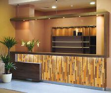 Tapete selbstklebend Design Holzstruktur braun ablösbar wiederverwendbar Wand