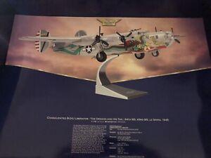 Corgi Aviation Archive Consolidated B24 J Liberator Dragon and His Tail AA34001