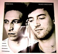 "Tanlines *Mixed Emotions* Double-Sided 15x15"" Promo Poster Rare Oop"