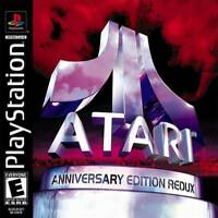 Atari Anniversary Redux - PS1 PS2 Complete Playstation Game