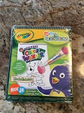 Brand New The Backyardigans Color Free 24 Page Coloring Pad mess free