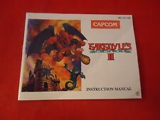 Gargoyle's Quest 2 II Nintendo NES Instruction Manual Booklet ONLY