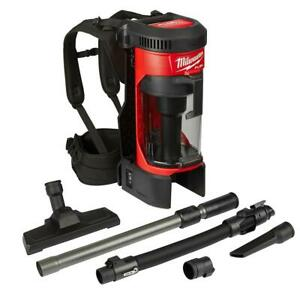 MILWAUKEE Backpack Vacuum Cordless 3 in 1 18 Volt Brushless 1 Gal. (Tool-Only)