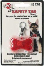 SPOT Ethical Pet Led Safety Tag Bone Shape ID