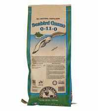 Down To Earth - Seabird Guano (0-11-0) 20 LB - All Natural Organic Fertilizer