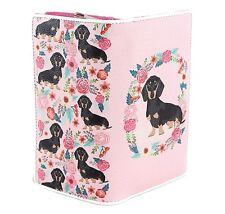 Sleepyville Dachshund Puppy Dog Wallet for Bag Handbag Purse
