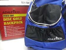 Disc Golf Backpack, Cooler Pocket, Frisbee Golf Bag, 20+ Disc Capacity **Blue