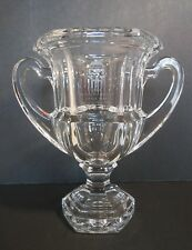 Tiffany & Co Crystal Vase Urn Loving Cup Signed