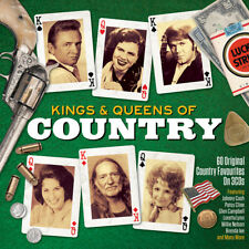 Kings & Queens Of Country - 60 Original Country Favourites 3CD NEW/SEALED