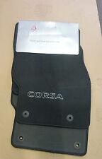 Vauxhall Corsa (2007-2014) Genuine Velour 4 Piece Carpet Mats 93199290