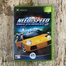 Original XBOX Need for Speed Hot Pursuit 2 mit Anleitung PAL Autorennen EA Games