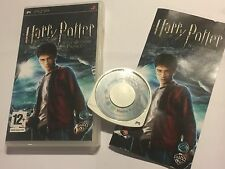 PSP GAME HARRY POTTER AND THE HALF-BLOOD PRINCE +BOX & INSTRUCTIONS COMPLETE PAL