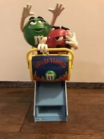M&M's WILD THING Roller Coaster Candy Dispenser MM Candy Co.