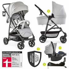 Hauck 4in1 Kinderwagen Buggy Set Rapid 4S Plus mit Babyschale & Isofix Basis